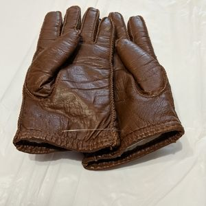 Accessories - Faux Leather Gloves